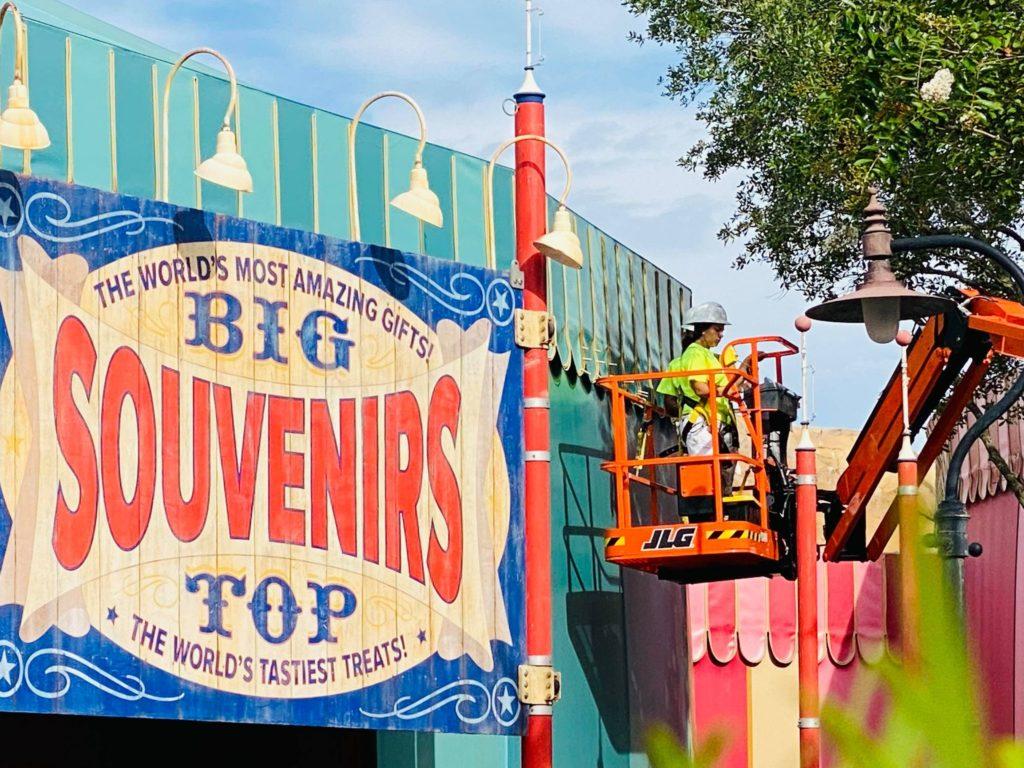 big top souvenirs refurb
