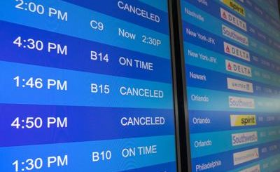 Hurricane Ida cancels all flights out of New Orleans Airport