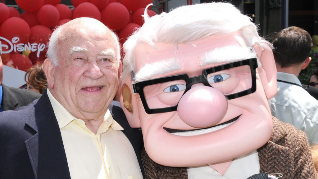 Ed Asner voice of Carl in Up passes away