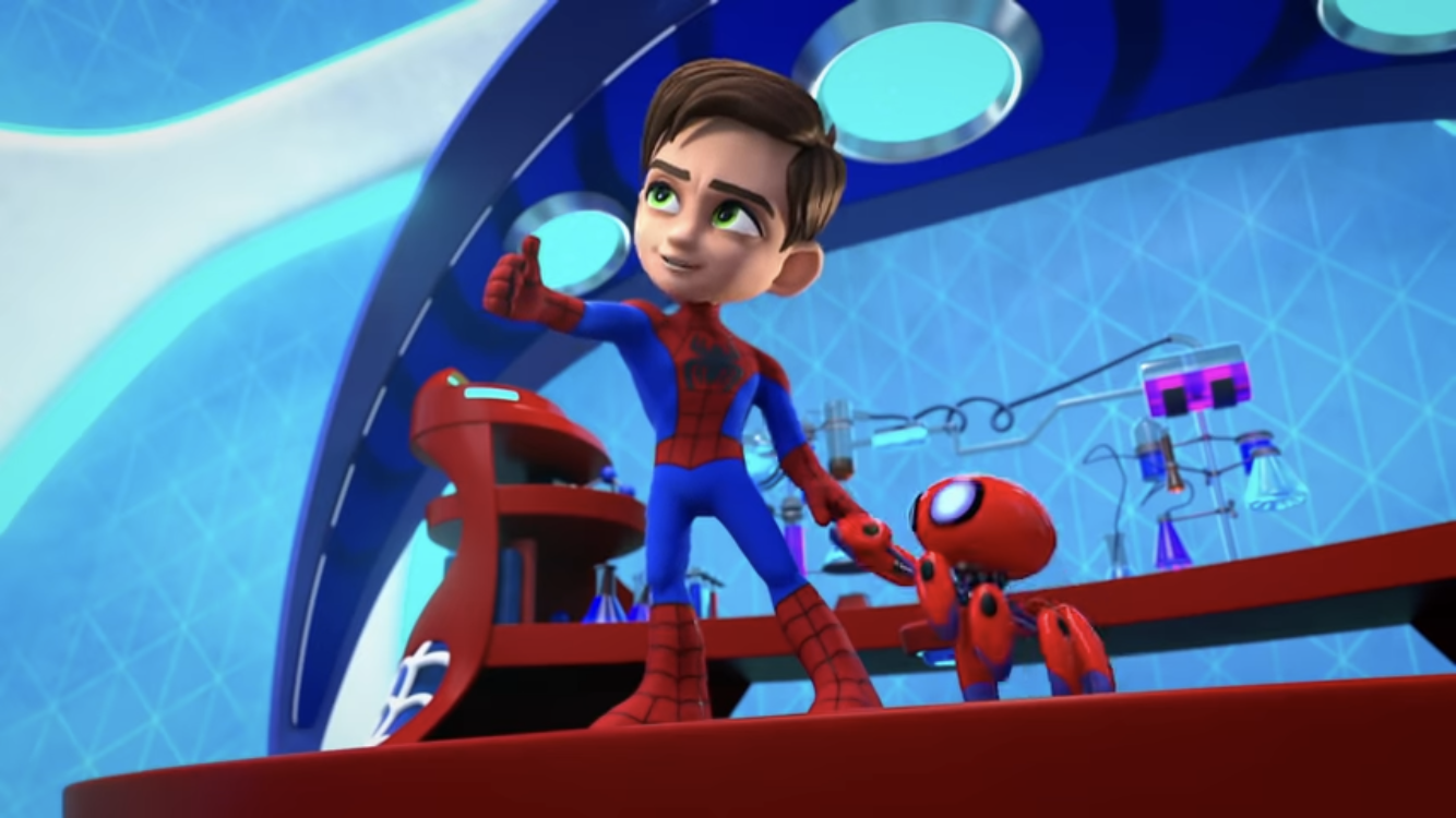 Spidey and Trace-E