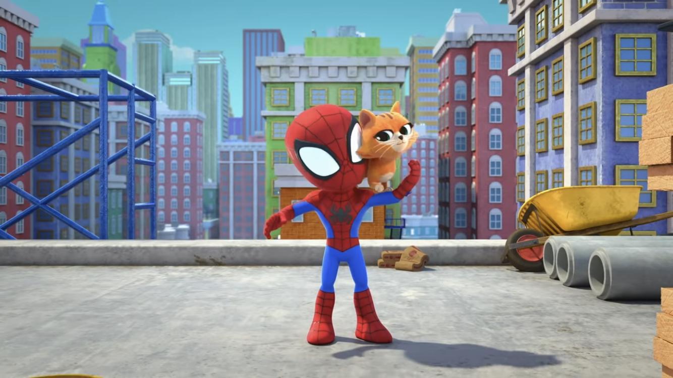 Spider-Man and Bootsie
