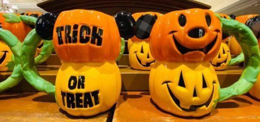 Treat or Treat Pumpkin Mugs