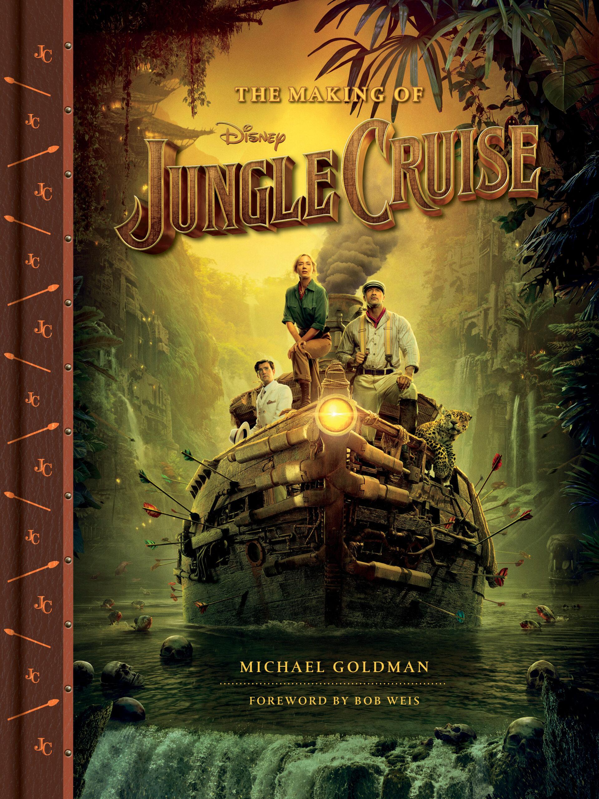making of jungle cruise book