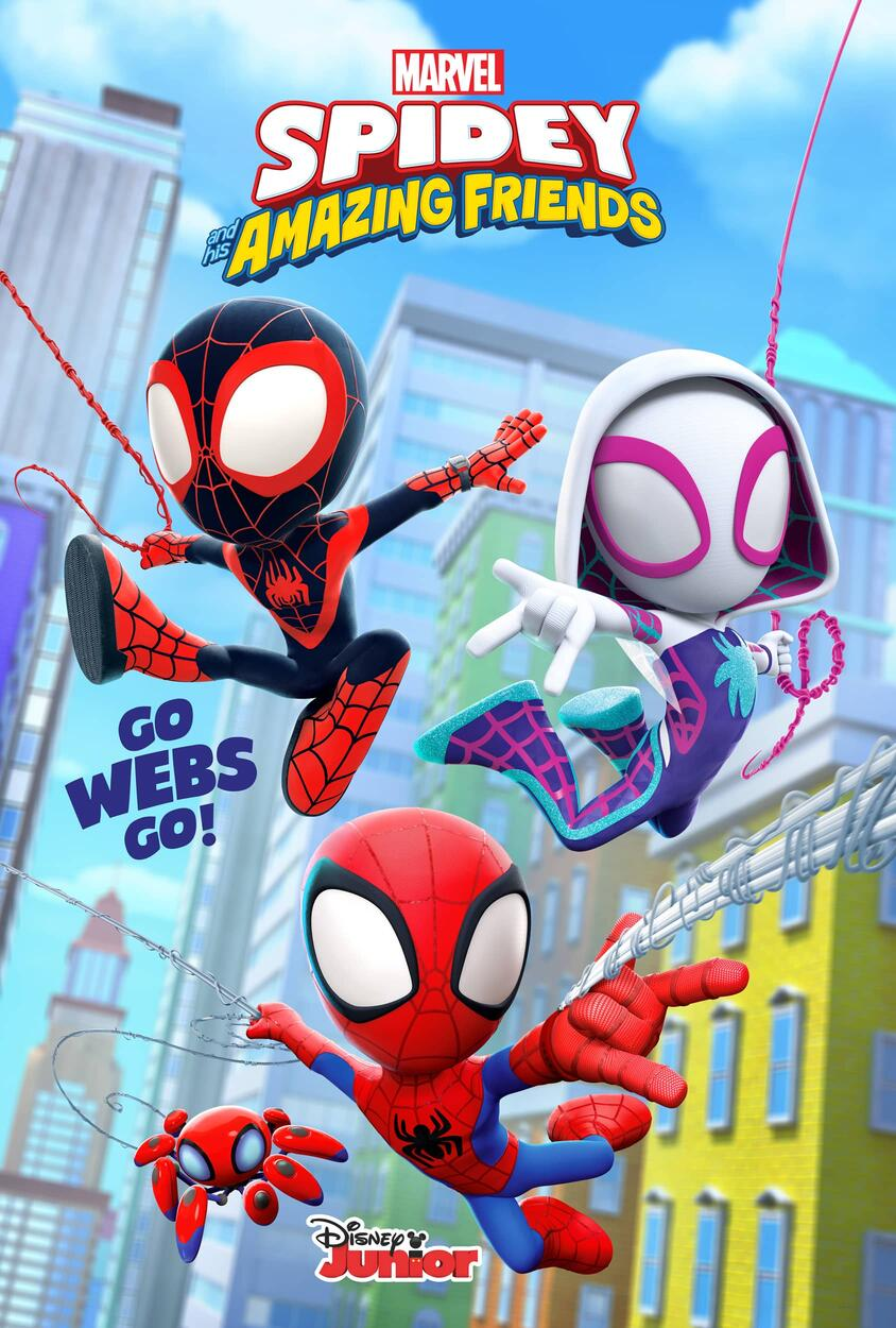Marvel's Spidey and His Amazing Friends Poster