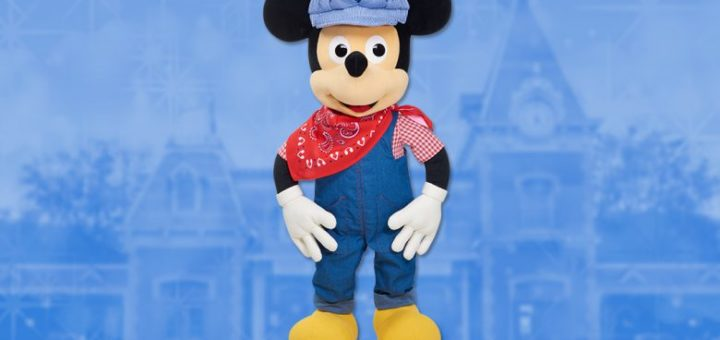 Mickey Engineer plush