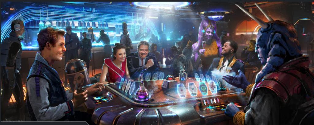 Star Wars Galactic Starcruiser Dining