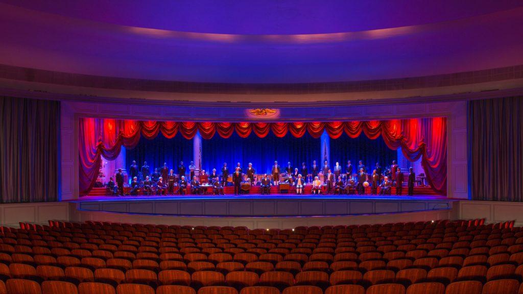 Hall of Presidents, Disney World