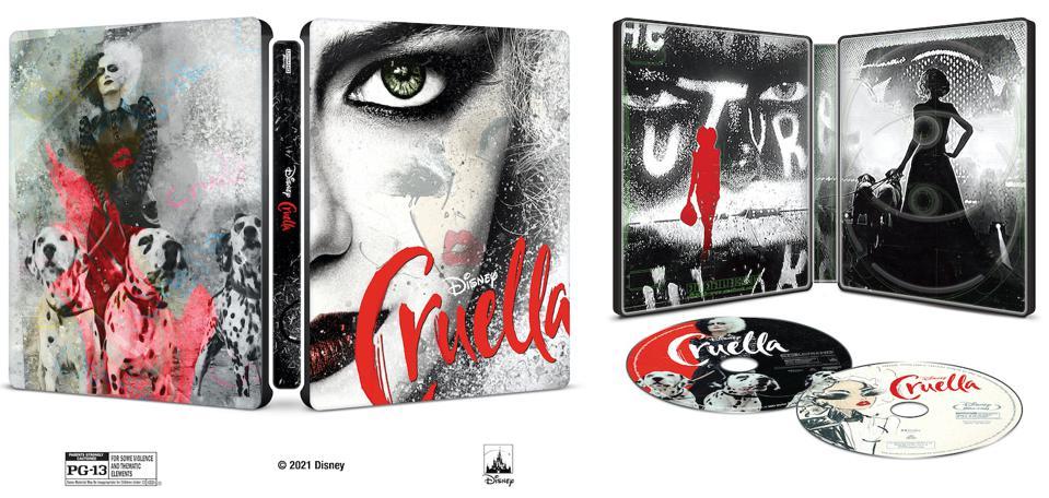 Best Buy, Cruella, SteelBook