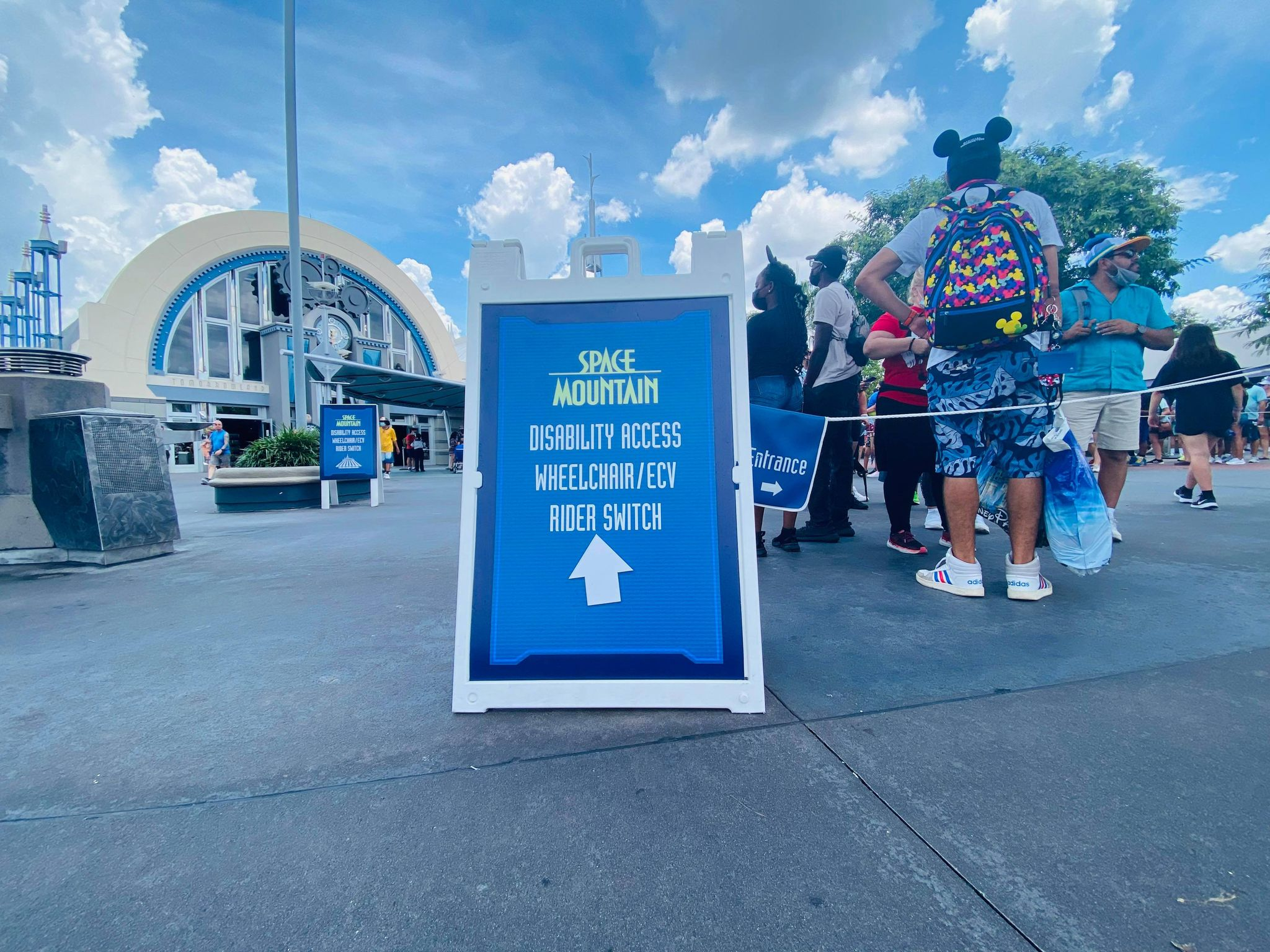 space mountain rider switch access pass