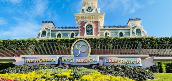 Magic Kingdom 50th