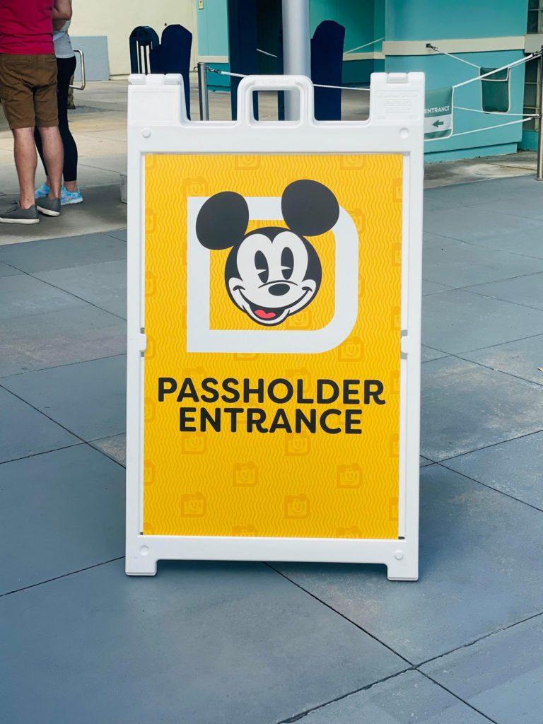 Passholder Entrance