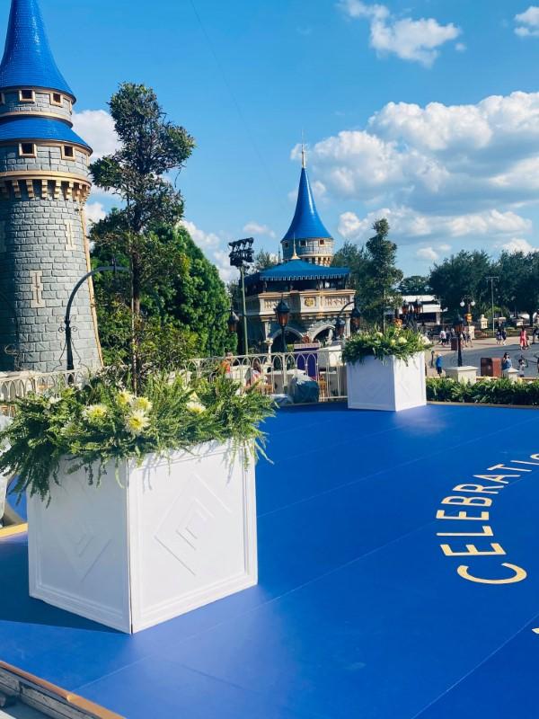 cinderella castle stage