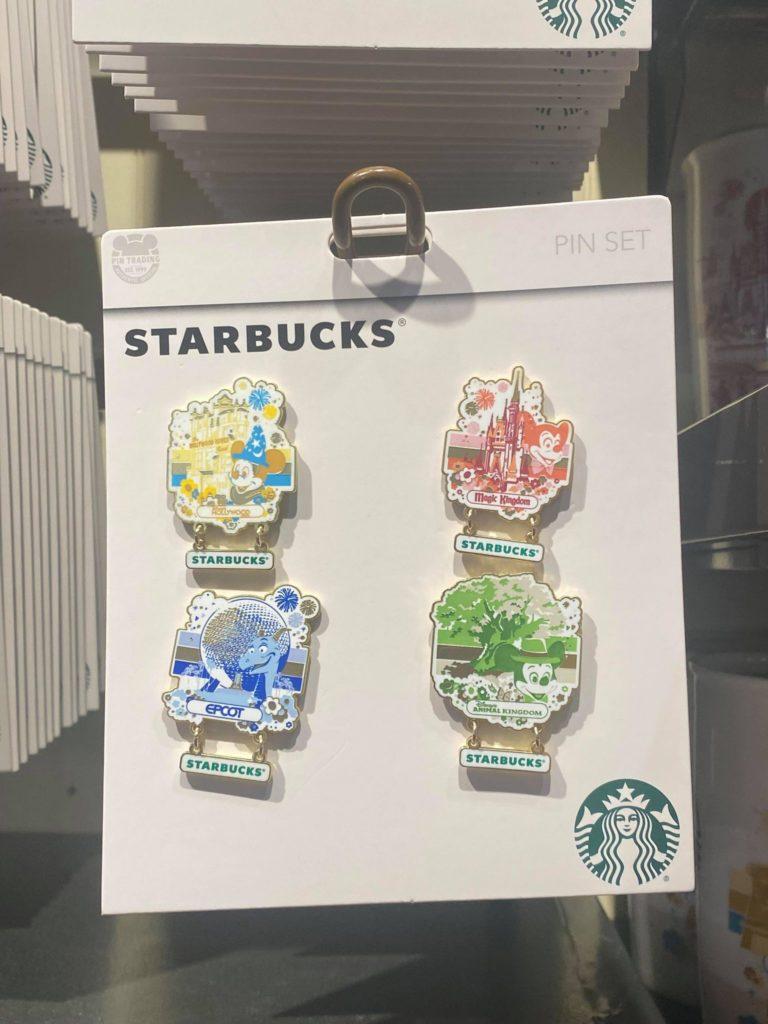 Disney Parks Starbucks Pins