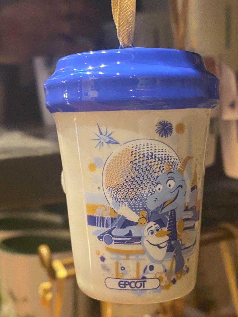Epcot Starbucks Tumbler Ornament
