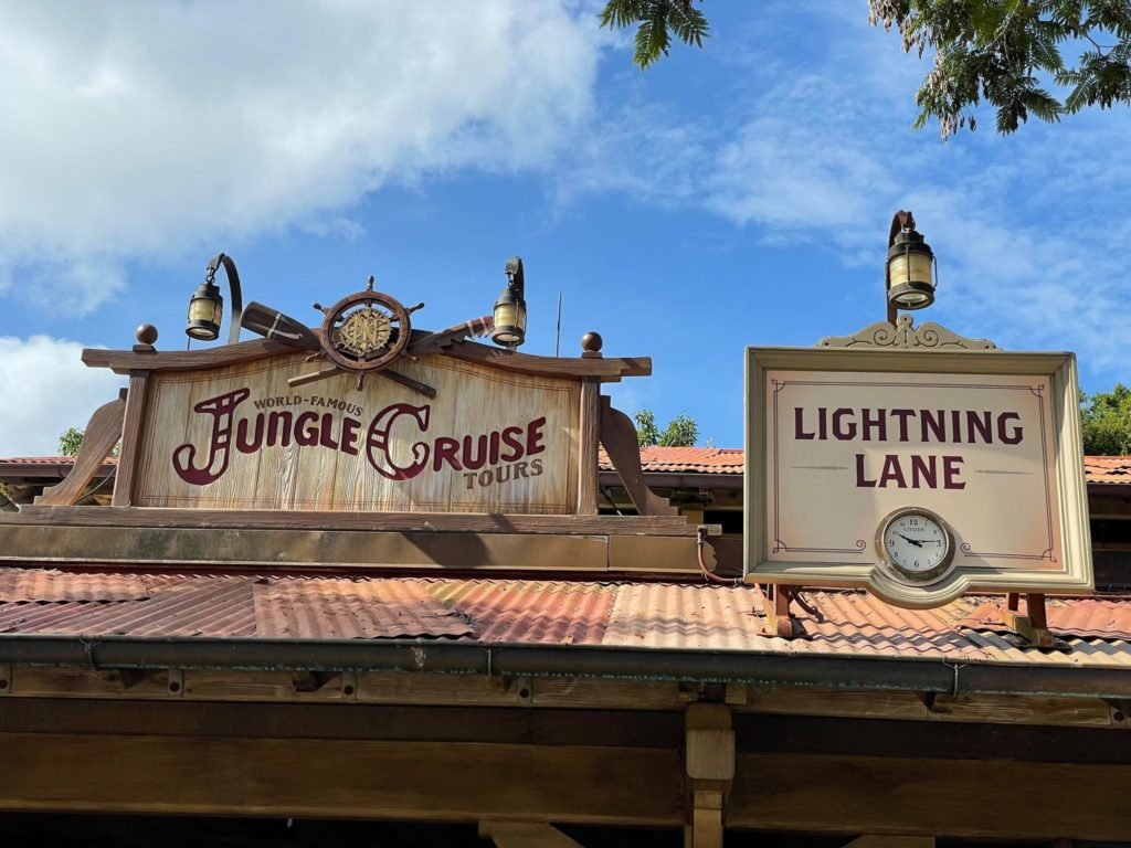 Lightning Lane Magic Kingdom