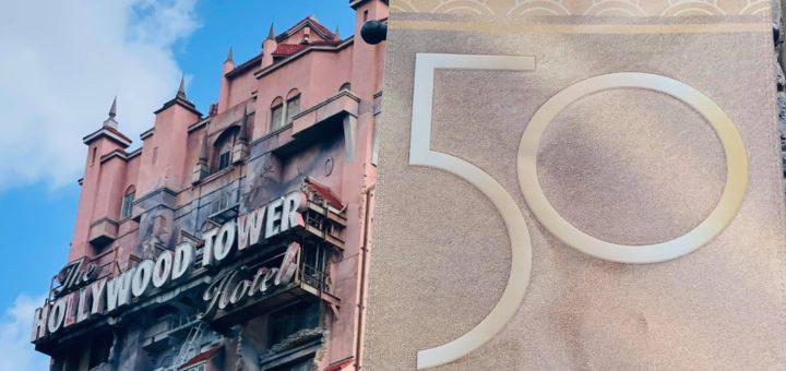 hollywood studios 50th banners sunset boulevard