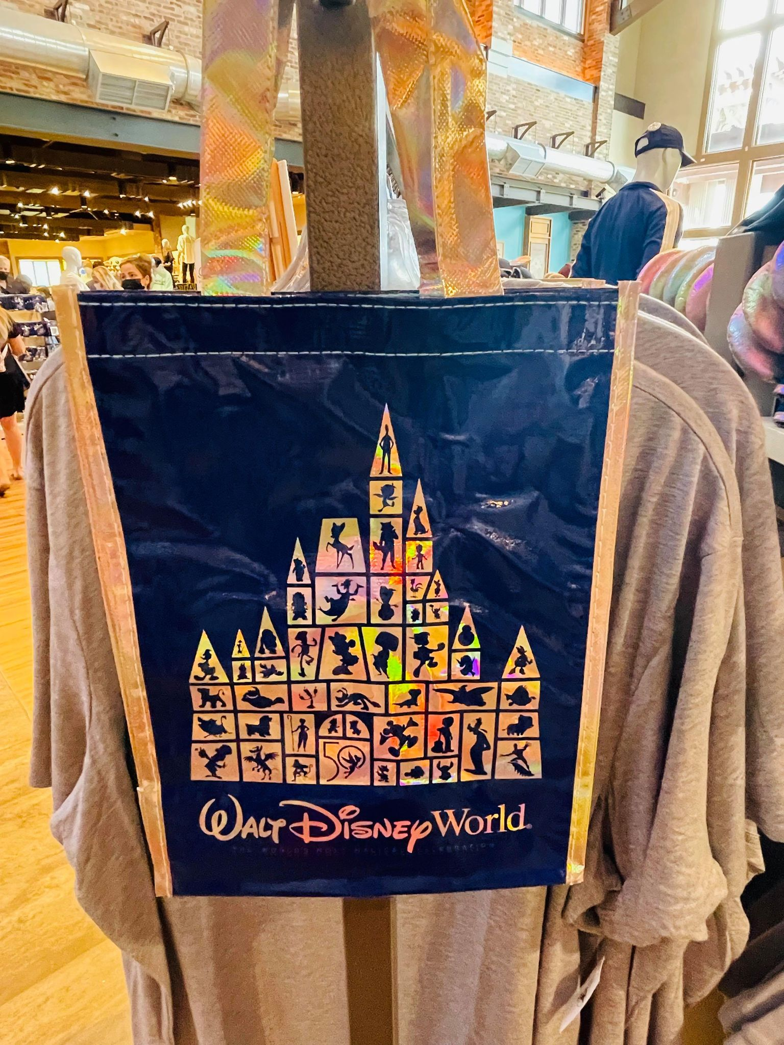 50th reusable bag