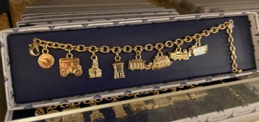 transport charm bracelet 50th
