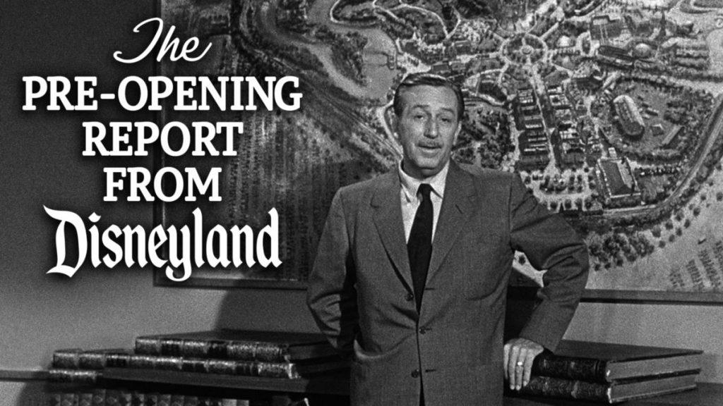 Pre-Opening from Disneyland