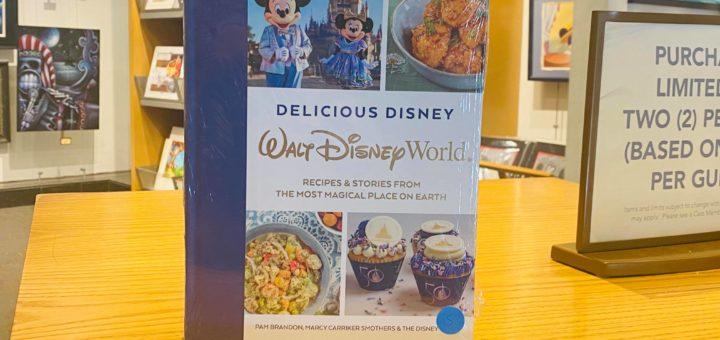Disney cookbook feature