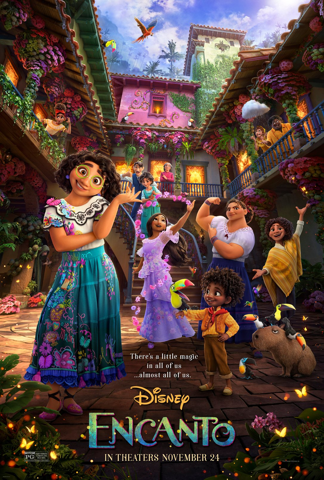 Encanto movie poster