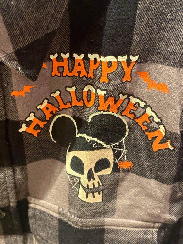 halloween flannel