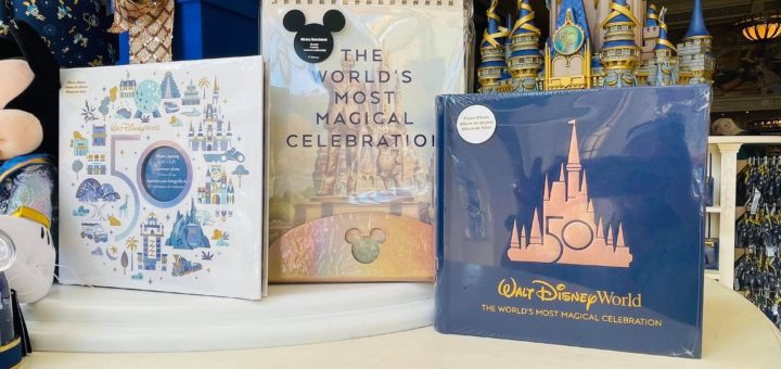 New 50th Anniversary Photo Album and Sketchbook