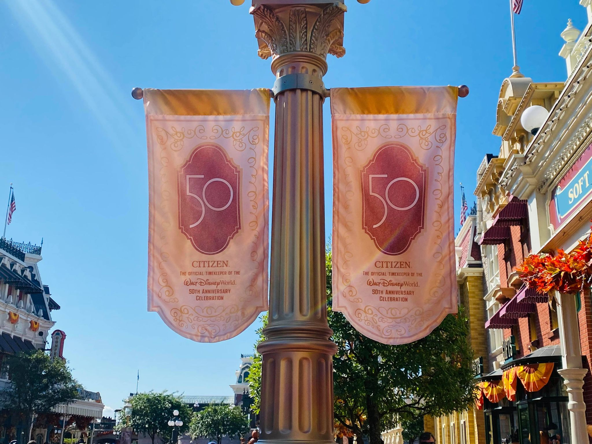 citizen main street clock banners