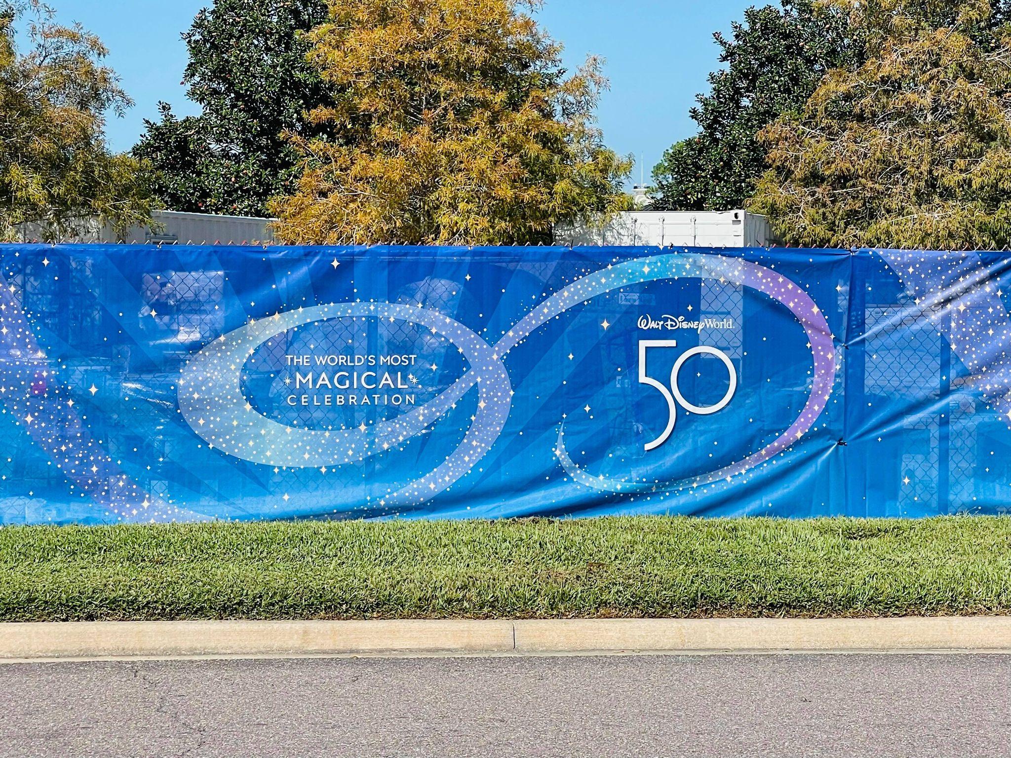 50th anniversary scrim contemporary