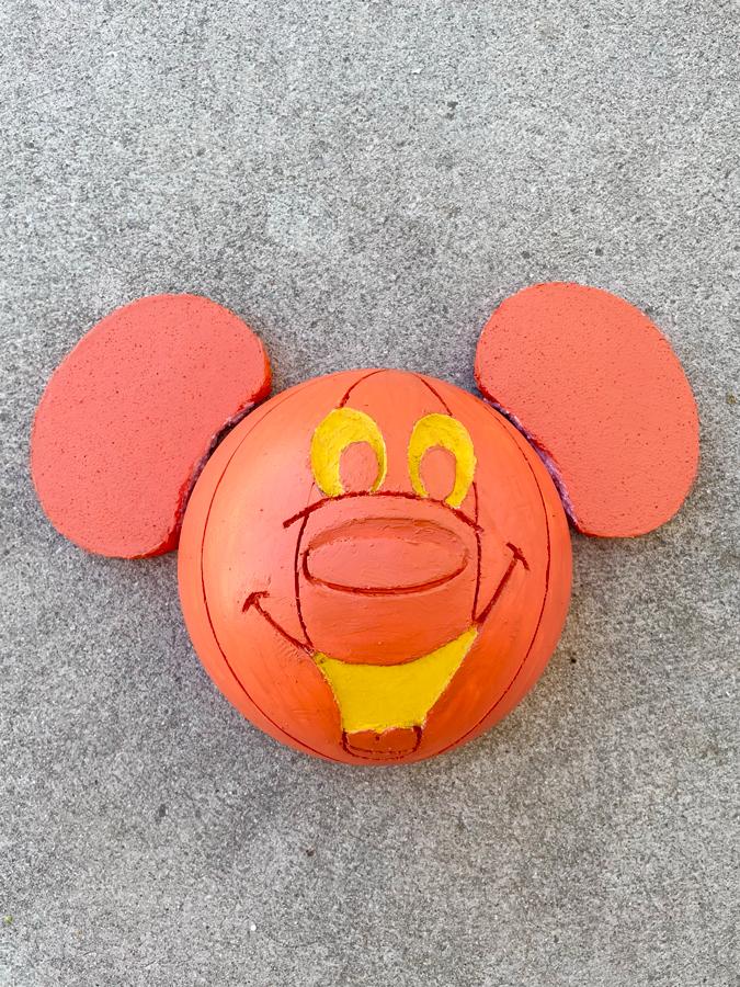 mickey pumpkin wreath diy