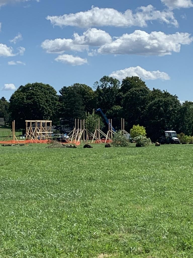 Hocus Pocus 2 set construction in RI