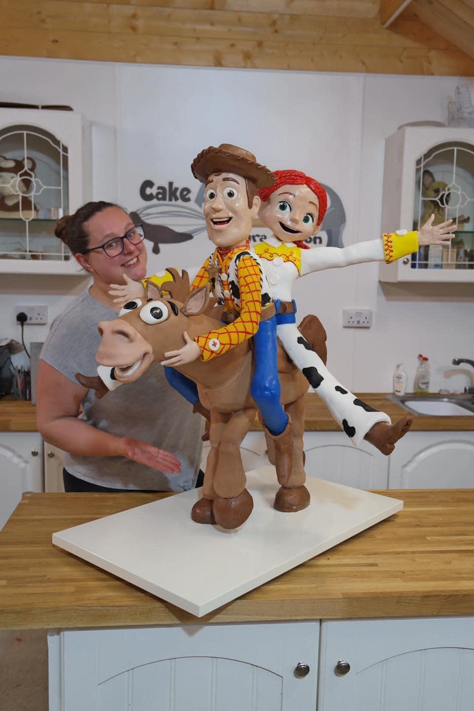 toy story cake lara mason