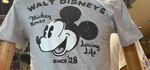 Mickey mouse loving life tee wod