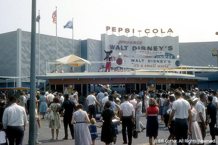 Disney Small World Pepsi World Fair