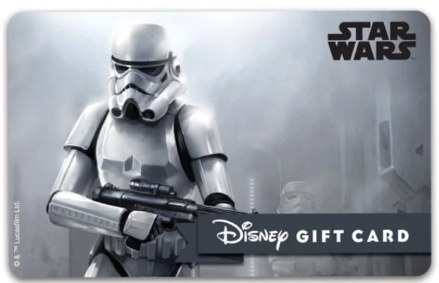Star Wars gift card