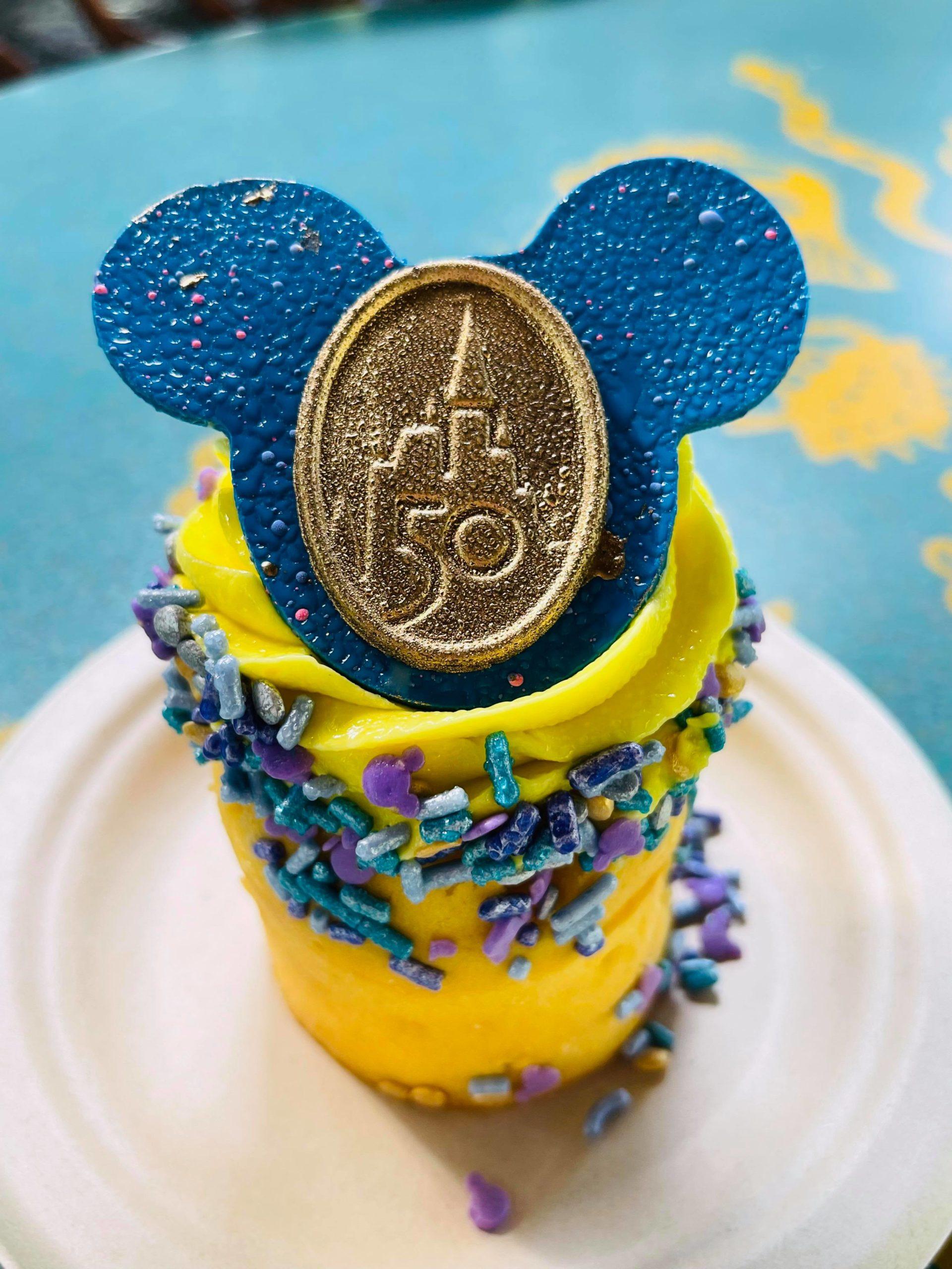 50th Anniversary Celebration Cupcake