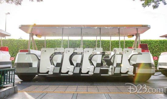 parking tram